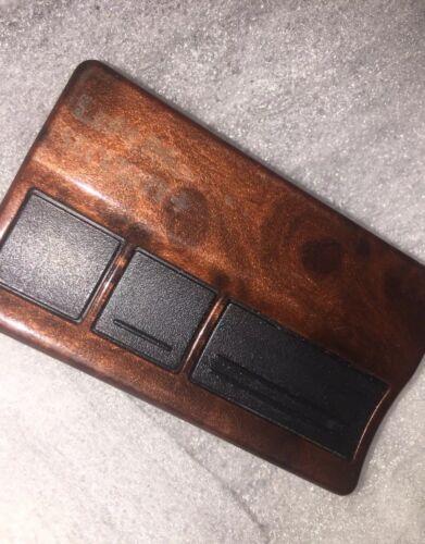 Burled Walnut Design LiftMaster 3 Button Garage Door Remote Opener 973W 973LM