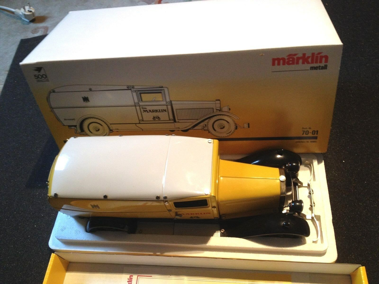 Märklin Post Car 500 years Post Kit Truck 1990 still NEW MINT BOX