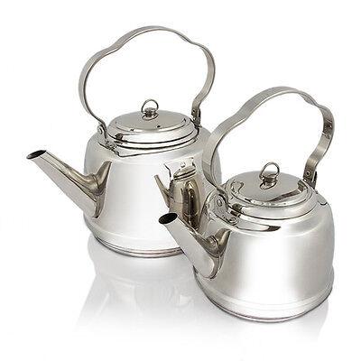 Teekessel Wasserkocher Wasserkessel Kessel Petromax Edelstahl 1,5l Oder 3l Sport Camping-küchenbedarf