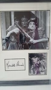 kenneth-connor-carry-on-genuine-hand-signed-20x16-inch-professionally-framed