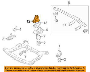 VOLVO OEM 99-07 V70-Engine Motor Mount 30680770 | eBay | Volvo S70 Engine Diagram Of 99 |  | eBay