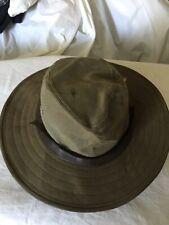 11060030 Desert Tan Olive Army Dark Filson Summer Packer Hat CHOOSE SIZE