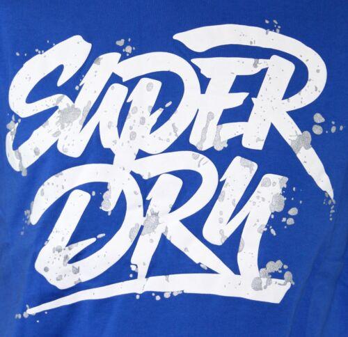 NEW MEN/'S SUPERDRY BRAND  SD CHISEL LOGO VINTAGE SLIM FIT TEE T-SHIRT