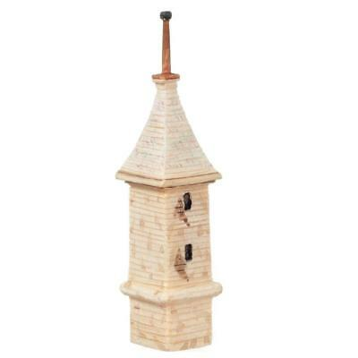 DOLLHOUSE Monastery Tower Birdhouse T8598 Town Square Miniatures