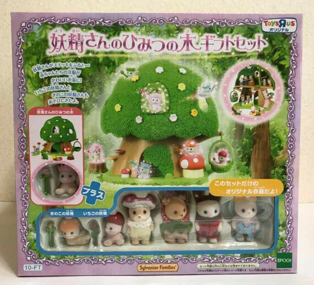 Sylvanian Families Fairies Secret Tree Gift Set Miniature Figure Doll Japan F S
