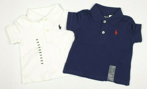 Polo Ralph Lauren Baby Boys Cotton Interlock Polo Shirt 6m 9m 18m