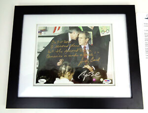 President George W Bush & Andy Card Signed Inscribed 9/11 8x10 Photo PSA/DNA COA