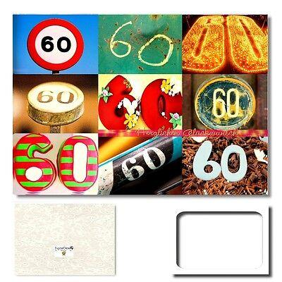 DigitalOase 19 Geburtstag Glückwunschkarte Geburtstagskarten #062