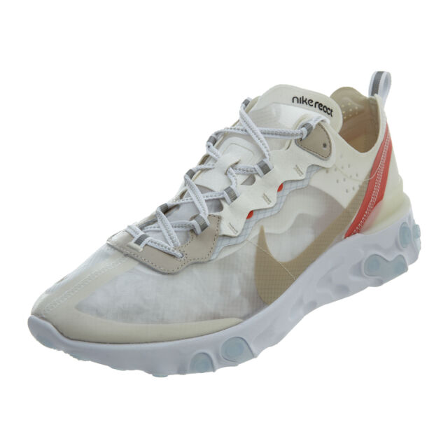 bff44d795a526 Nike React Element 87 Sail Light Bone 13 for sale online