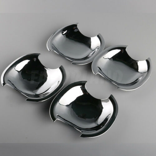 4X New Chrome Door Handle Cup Bowl Bezel Trim For TOYOTA Camry 2012-2014