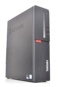 Ordinateur PC LENOVO ThinkCentre M710s i3-6100@3,70GHz/4GB DDR4/500Go/Win10Pro