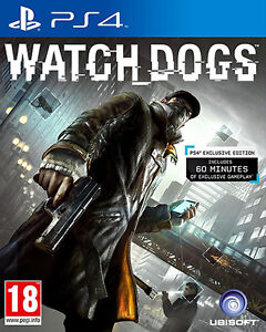 Watch-Dogs-PS4-in-Excellent-Condition