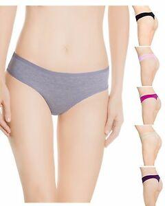 aadb1b1505a2 6 Lot Women G String Yoga Sport Cotton Thong Underwear Pack Panties ...