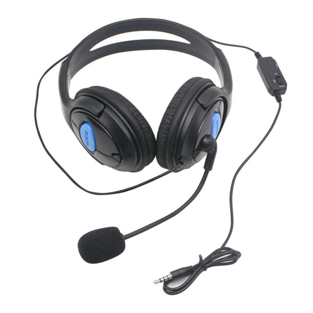 Stereo Wired Gaming Headsets Headphones with Mic for PS4 Sony PlayStation 4  / PC