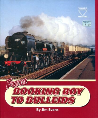 1 of 1 - Evans, Jim  FROM BOOKING BOY TO BULLEIDS Hardback BOOK