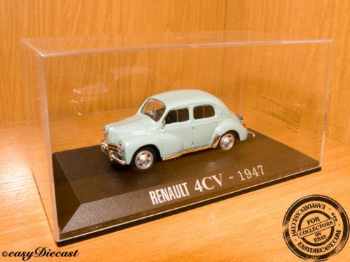 RENAULT 4CV 4-CV 1947 1 43 MINT