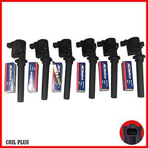 Ignition-Coil-and-Spark-Plug-for-Mazda-Tribute-MPV-3-0-Ford-Escape-BA-ZA-ZB