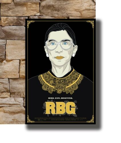 New Notorious RBG Movie 2018 Comic Cover Artist 20x30 24x36 Poster T-1279