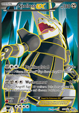 Pokemon XY Karte, Stolloss EX, Full Art, Protoschock, 153/160