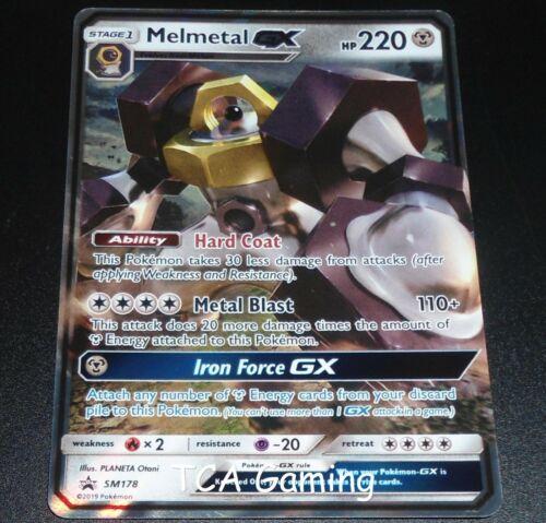 Melmetal GX SM178 SM Black Star Promo HOLO Pokemon Card EXCELLENT