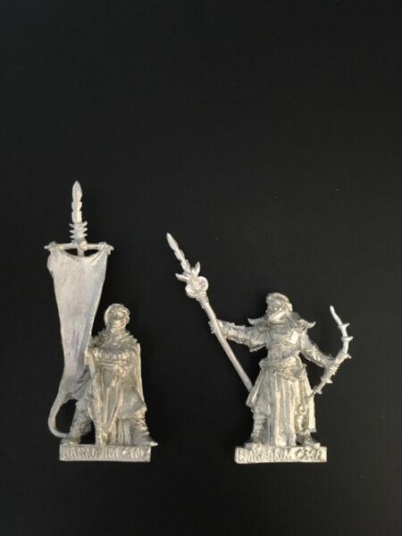 Bello Warhammer Lord Of The Rings Lotr - Haradrim Command Metal Oop Con Il Miglior Servizio