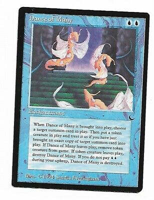 Magic The Gathering ~ 1x Dance of Many ~ The Dark ~ M//NM