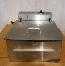 Wyott Deep Fat Fryer 208230 Volts 1 Phase 6060hz