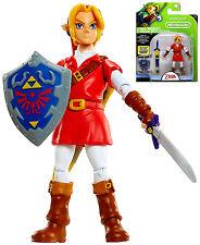"World of Nintendo Link in Red Goron Tunic Series 2-3 Figure 4.25"""