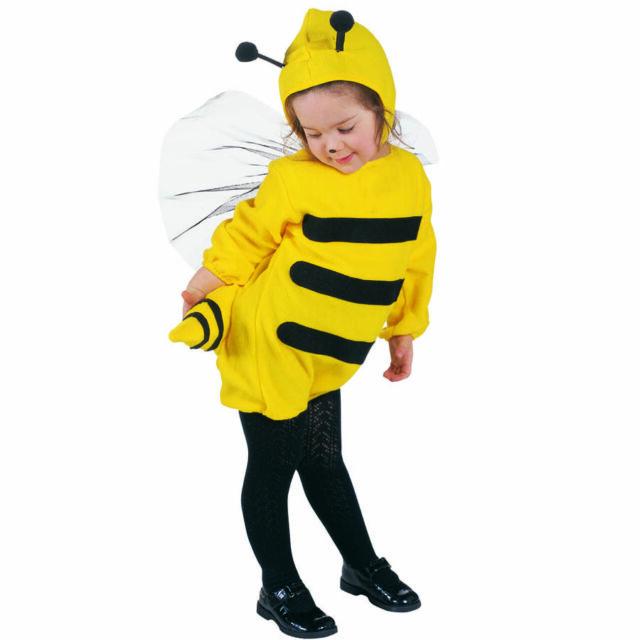 Bienen Kinder Kostum Karneval Fasching Bienenkostum Insekt Wespe