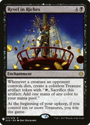 MTG Magic Card Revel in Riches Mystery Booster Rare #117 Mint