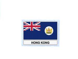 Patch-Badge-Printed-Flag-Hk-Hong-Kong-Antique