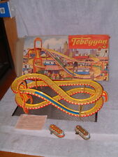"1958 TECHNOFIX NR. 290/2 ""TOBBOGAN"" 2 TROLLY SET, 100% COMPLETE & WORKING W/BOX!"