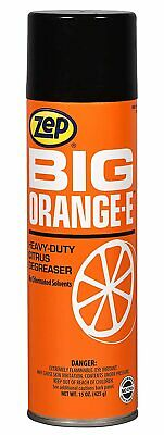 Zep Big Orange E Industrial Citrus Degreaser 18501 15 Oz