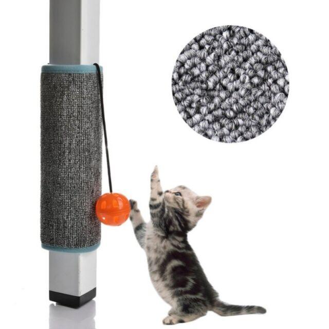 Pet Cat Kitten Scratching Pad Mat Board Sisal Scratcher Post Pole Toy 25x32cm US