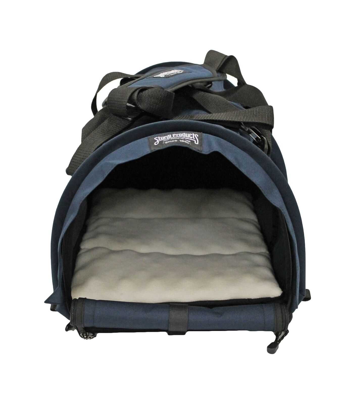 SturdiBag Large Flexible Height Pet Carrier Navy