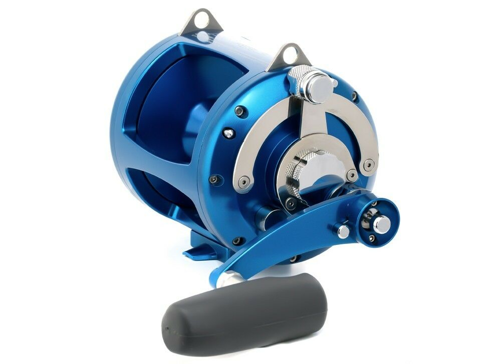 Avet Pro EXW 50 2 Two-Speed Lever Drag Big Game Reel - blueE, Right Hand - NEW