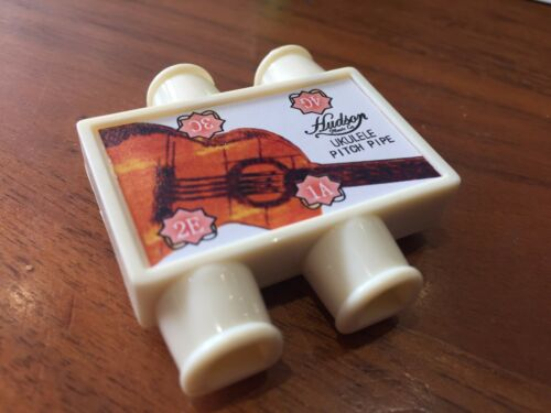 Ukulele Tuner Pitch Pipe Pipes Soprano Concert Tenor RRP 5.99
