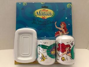 New Disney The Little Mermaid Vintage 3, Little Mermaid Bathroom Accessories