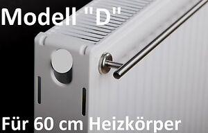 """Komplett-küchen & Ausstattung Intelligent """"d"""" Handtuchhalter Für 60 Cm Heizkörper Mit Magnethalterung Edelstahl Heizung GroßE Vielfalt"""