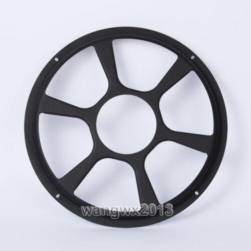 "2pcs 10/"" inch Speaker Cover Decorative Circle Subwoofer Full Metal Mesh Grille"