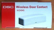 DSC WS4945 Wireless Door Window Contact Transmitter ~Complete: New In The Box~