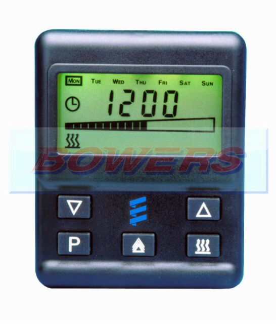 EBERSPACHER 12V/24V AIRTRONIC D2/D4/D5 HEATER 701 7 DAY DIGITAL TIMER DIAGNOSTIC