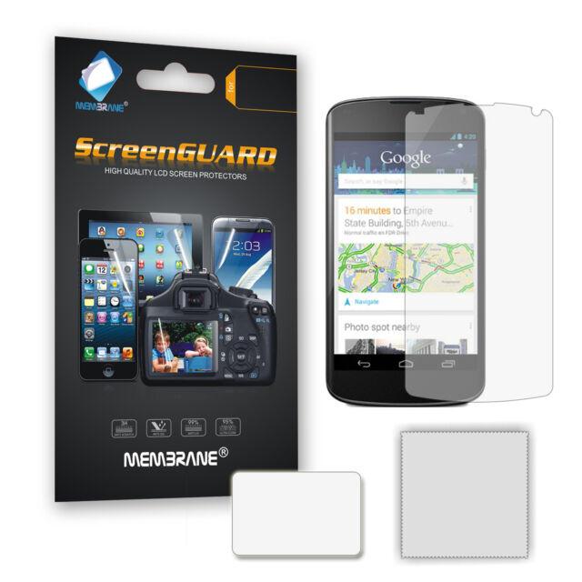 3 x Ultra Clear LCD Screen Guard Protector Film for LG Google Nexus 4 (E960)