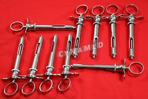 10 Premium Dental Anästhetikum Spritze selbst-d.h. er saugt 1.8CC - Zahnarzt Instrumente-A +