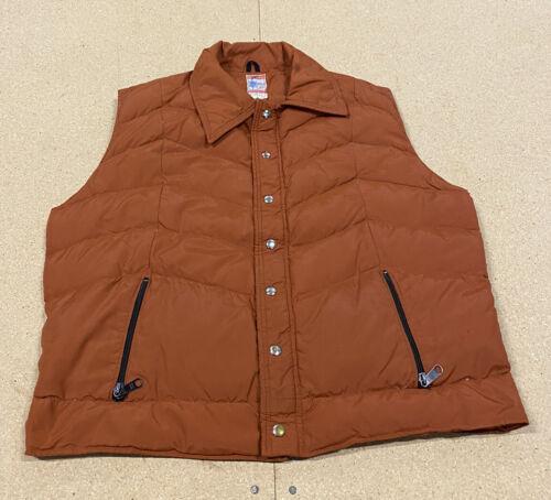 Vintage 70's Frostline Kit Down Puffer Vest Hiking