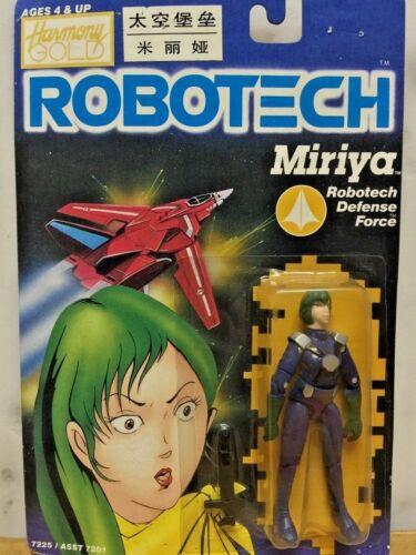 ROBOTECH Macross Harmony Gold Action Figure Zentraedi Female Pilot Miriya Parina
