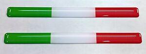 3D-Cupula-Pegatinas-Banderas-Italia-Tricolor-para-Parachoques-Casco-de-Moto