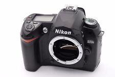 Nikon D D70s 6.1 MP Digital SLR Camera - Black (Body Only) Shutter Count: 890