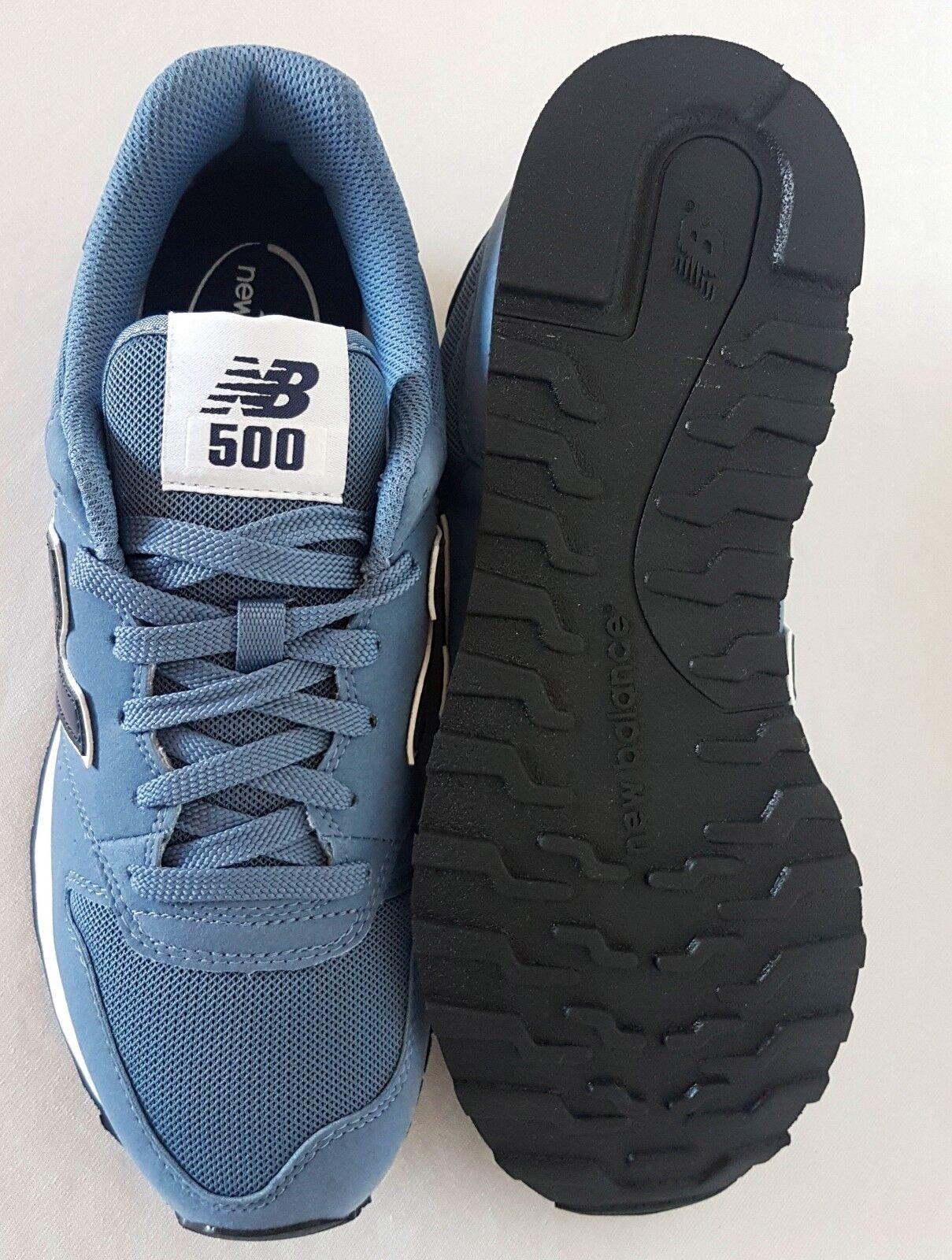 buy popular b9397 47bc2 ... Herrenschuhe gymnastik turnschuhe neu gleichgewicht 500 500 500  klassisch blau schwarz 3c9aa2 ...