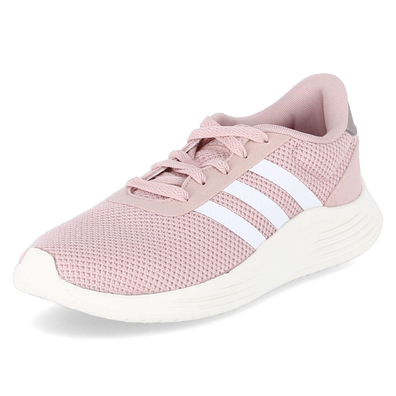 Adidas Damen Turnschuhe Low LITE RACER 2.0 Rosé Textil Sportschuhe Laufschuhe